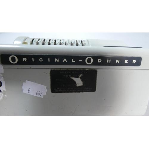 57 - A Vintage Original Odhner Calculating Machine...