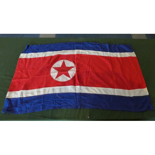 25 - A Collection of Ten Fabric Flags to Include Red Ensign, Romania, Monte Carlo group, Hungary, Israel,...