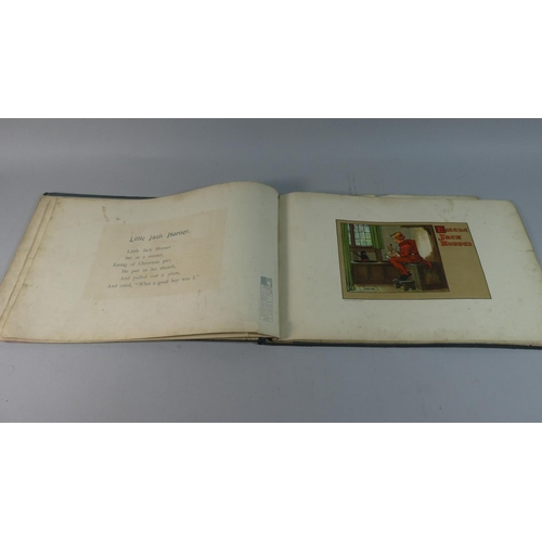 21 - An Interesting Bound Volume, Simple Simon and His Friends with Illustrations by Charles Crombie, Pub...