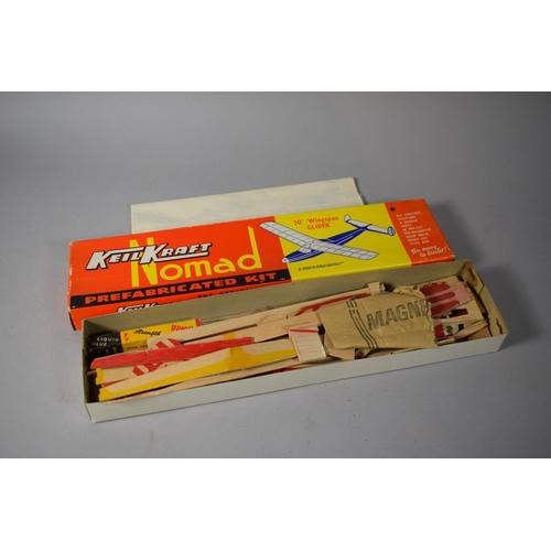35 - A Keil Kraft Nomad Prefabricated Balsa Wood Kit for 20