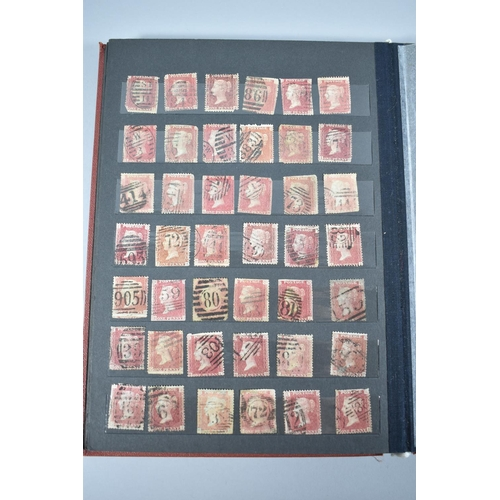32 - A Stamp Stock Book Containing 798 Penny Reds...
