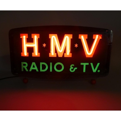 110 - A Vintage Neon Free Standing or Wall Hanging Advertising Shop Sign for