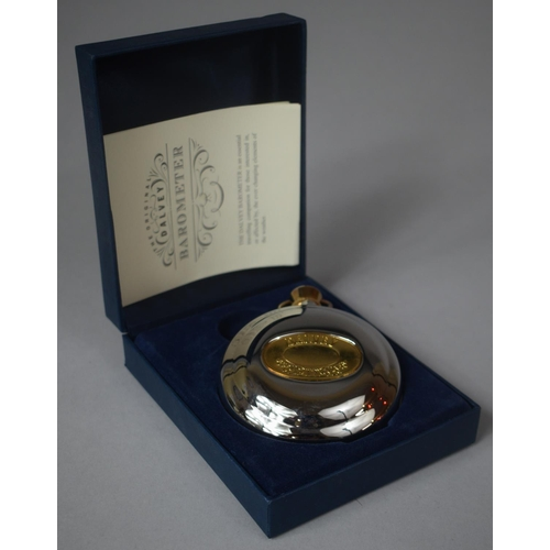 13 - A Boxed Dalvey Barometer with Instruction Pamphlet, 8cm Diameter...