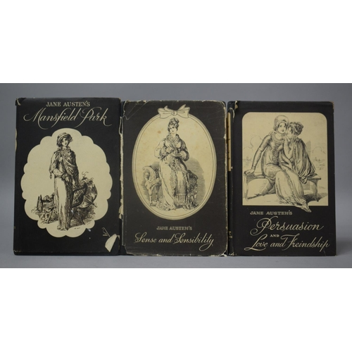 210 - Three Goldfinch Title Jane Austen Books to Include Mansfield Park, Persuasion and Love and Friendshi...