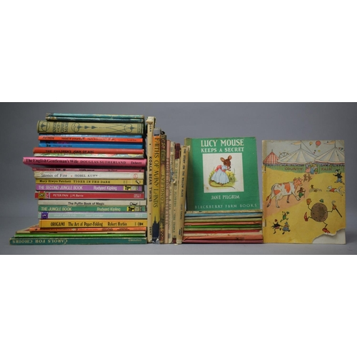 215 - A Collection of Children's Books to Include Merry Murphy by Lang Campbell (AF), 1945 Edition of The ...