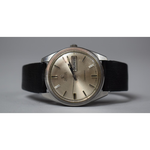 An Omega Seamaster Automatic Gentleman's Wrist Watch, Movement No.25790350, Backplate Scratched, In Working Order