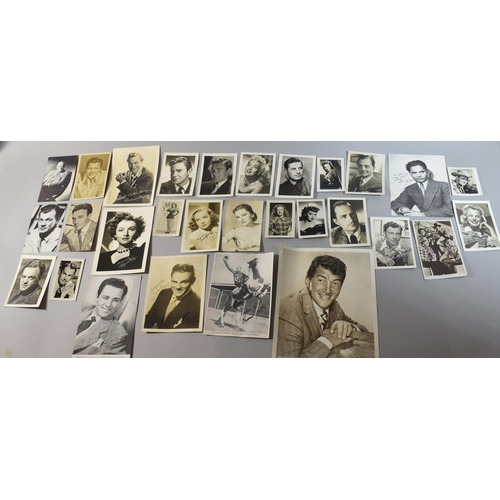 226 - An Important Collection of 1940's Film Star Photographs and Autographs from the Film Studios of Univ...
