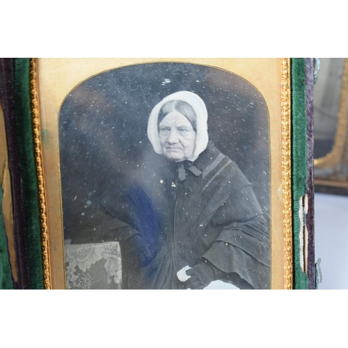 49 - A Collection of Four Late 19th Century Daguerreotype Cased Photographs