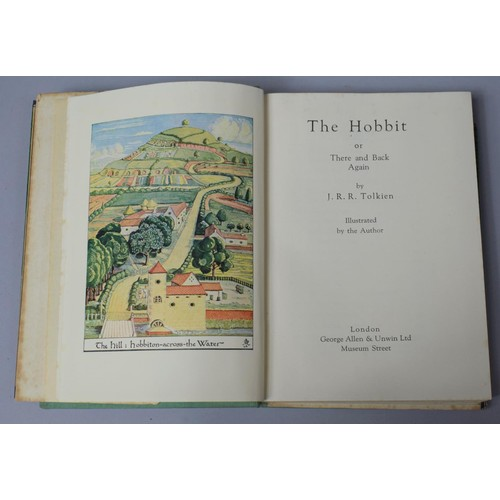 290 - A 1937 Signed Second Impression of The Hobbit By J. R. R. Tolkien, Published by Geroge Allen & Unwin...
