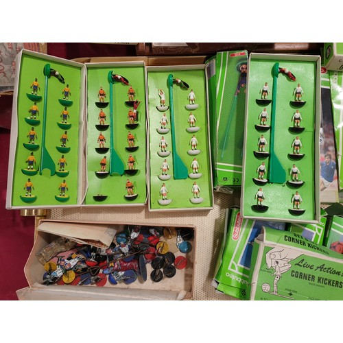 1 - Vintage and later Subbuteo.  No in house shipping, please collect or arrange a shipper.