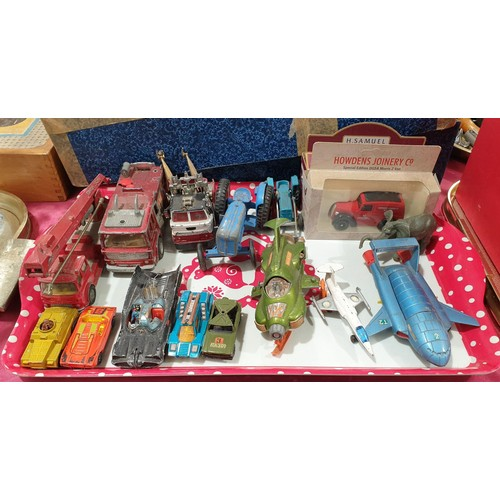 45 - Toy vehicles including Dinky.