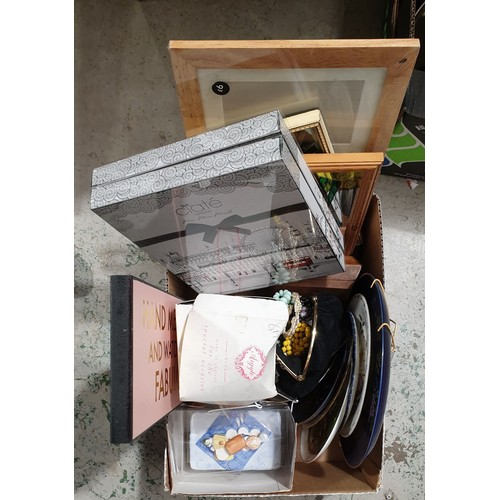 12 - A box including costume jewellery.  No in house shipping, please collect or arrange a shipper.