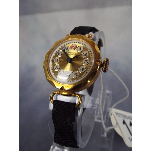 111 - 1940'S/50'S ORSA swiss watch in exceptional condition, working order...