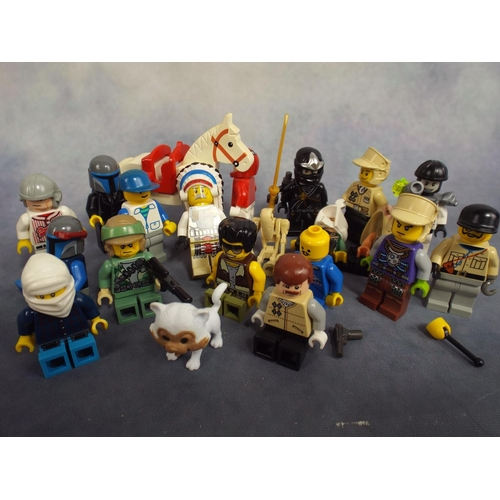 132 - Selection of lego figures...