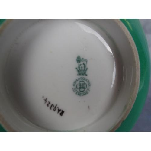 163 - Painted Royal Doulton bowl...