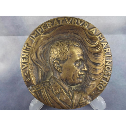215 - Brass Plaque featuring Stalin...