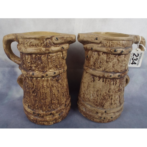 234 - Two stoneware type jugs...