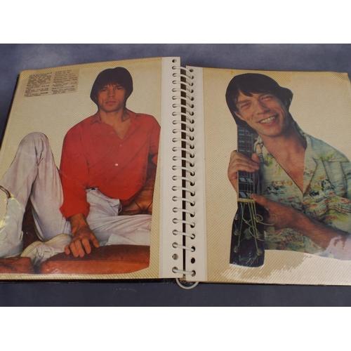 269 - Rolling stones scrapbook...
