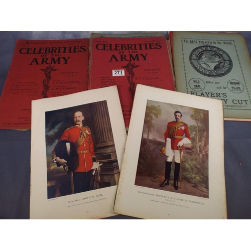 271 - Collection of Celebrites of the Army magazines C1900...