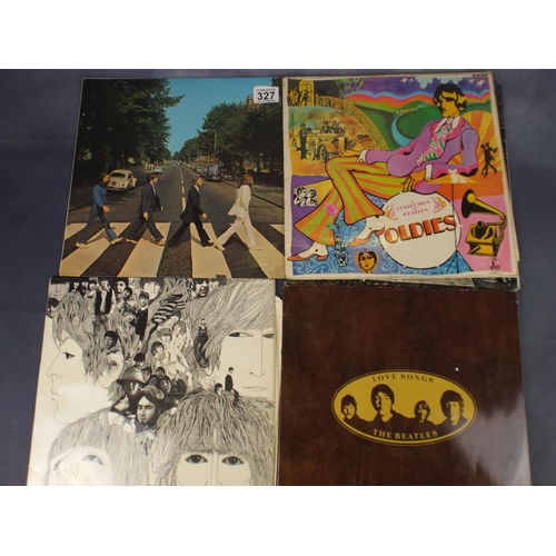 327 - Five Beatles Lp's...