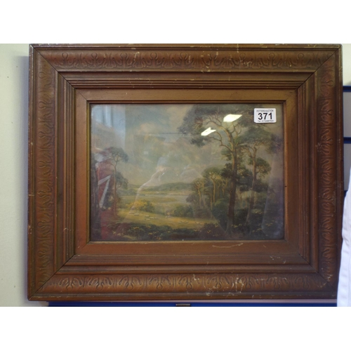 371 - Two nicely framed victorian prints...