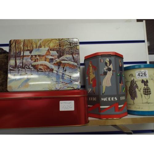 426 - Four interesting tins...