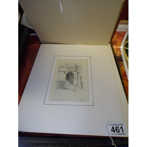 461 - Misc. prints...