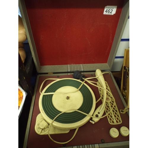 462 - Vintage regent tone record player...