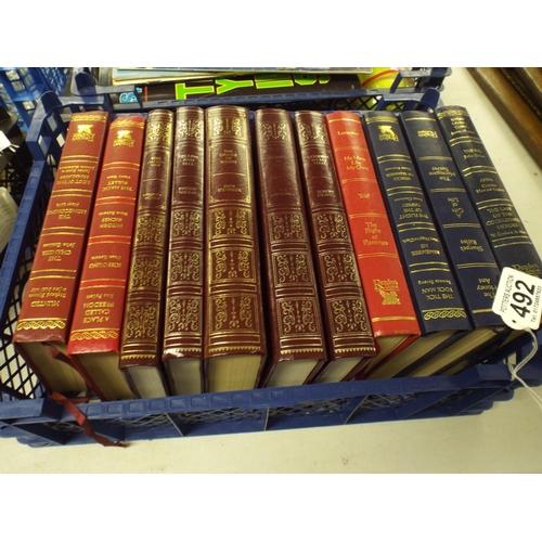 492 - Eleven hardback Classical books...