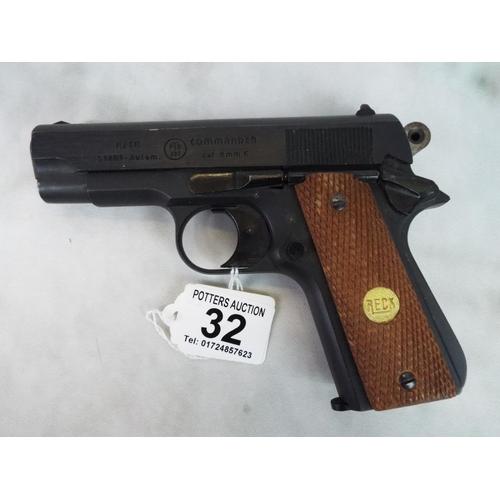 Reck commander  German made blank firing starter pistol