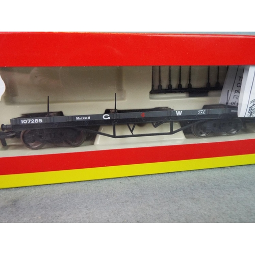 20 - Hornby 00 GWR bolster wagon. Boxed and unused....