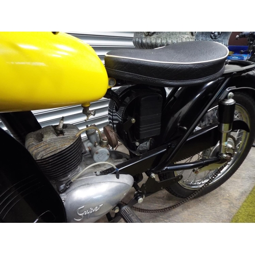 1 - 1962 B.S.A Bantam, 175cc. Lovingly restored but in need of completion. Some spares included. Much mo...