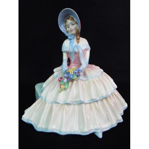 13 - Royal Doulton figurine. HN1731 'Daydreams'  6 inches tall....