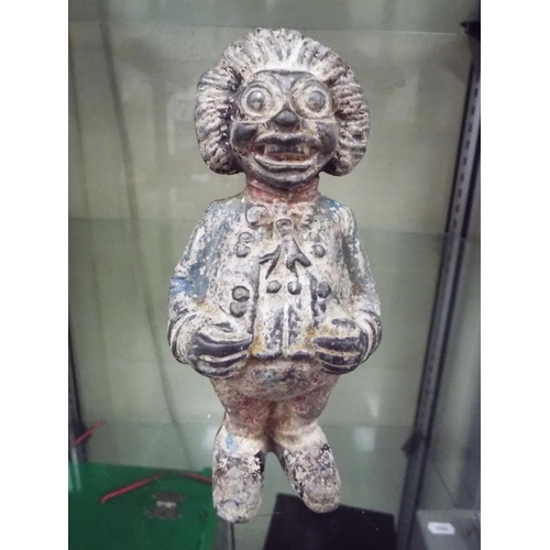 40 - Vintage metal Robinsons Golly money box approx 5 inches tall....
