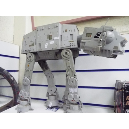 41 - Star wars At At Walker playworn but seemingly complete