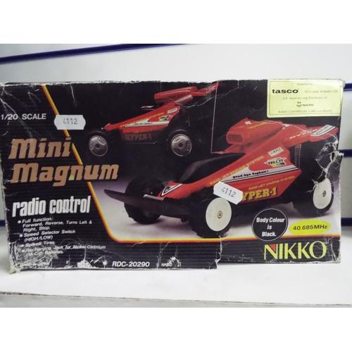 42 - 1:20 Scale R/C mini Magnum in original but tatty box