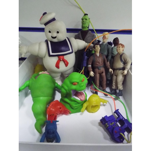 52 - Selection of plastic Ghostbusters figures...