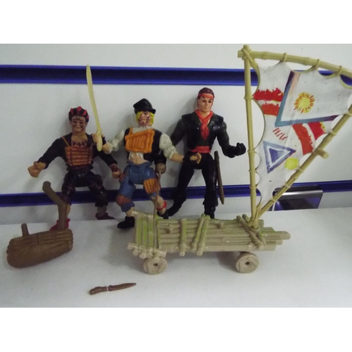 55 - Plastic figures from the film 'Hook'...