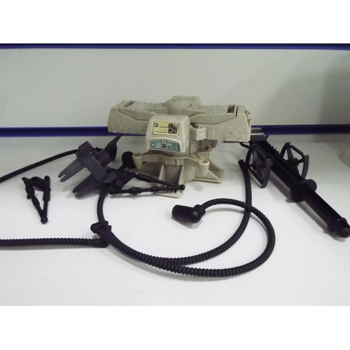 60 - Kenna 1980 Tripod Lazer cannon mini rig and maintenance energiser mini rig, (both missing some parts...