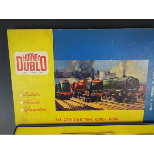 37 - Hornby Dublo 20006 0-6-0- tank goods train. Unused condtion. Original boz.