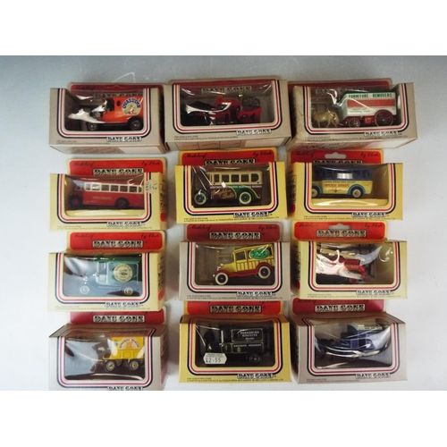 55 - 12 Days Gone by Vintage Trucks and Buses. By Lledo. All boxed and unused condition.