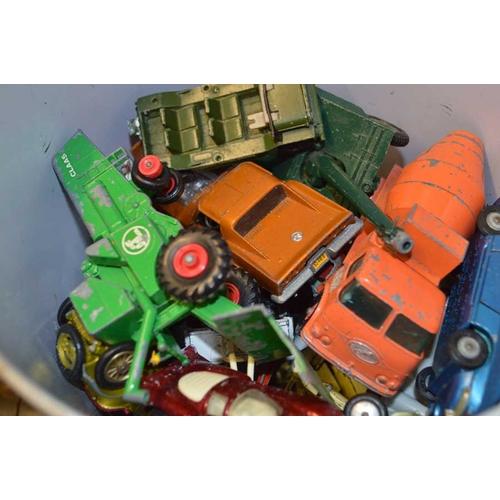 11 - A Bin of Model Cars etc...