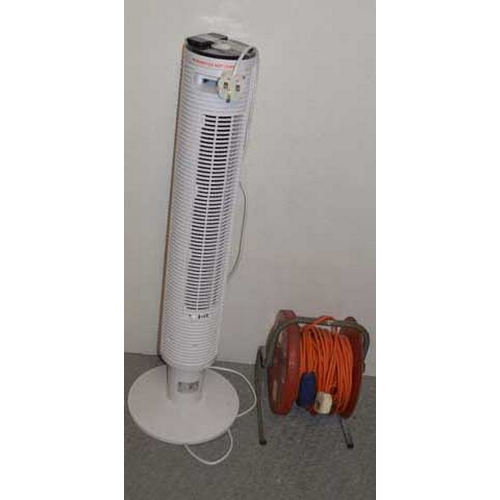 14 - A Room Heater and an Extension Cable...