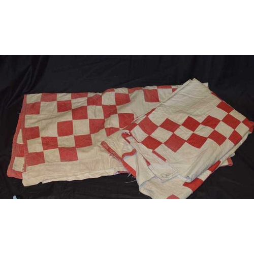 24 - Two Patchwork Quilts...