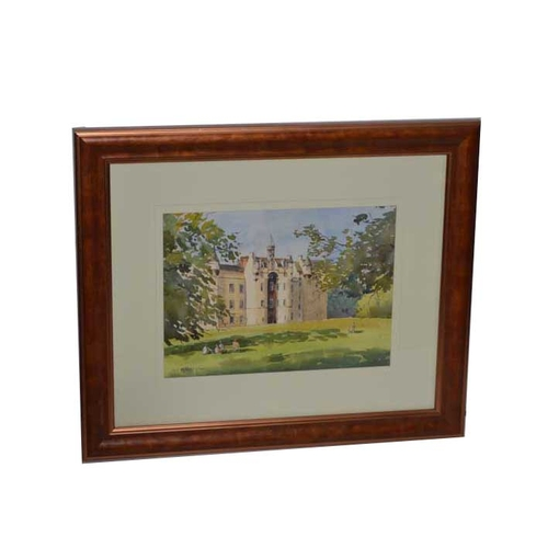 39 - A Watercolour 'The Old House' - Paul McClenaghan