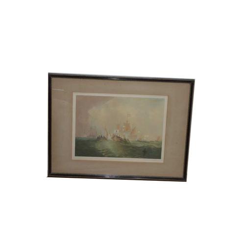 56 - A Nice Oil Painting 'Rough Seas'