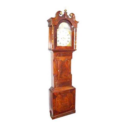 15 - An Inlaid Mahogany Longcase Clock