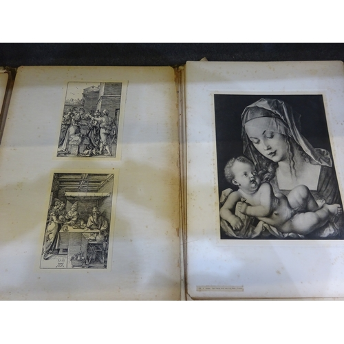 32 - The Dürer Society folios from 1901 & 1906 (First and Fourth Editions)...