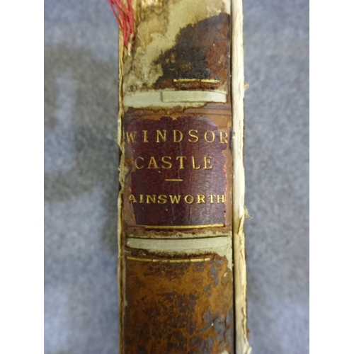 31 - (M) 1843 First Edition - Windsor Castle by William Harrison-Ainsworth...