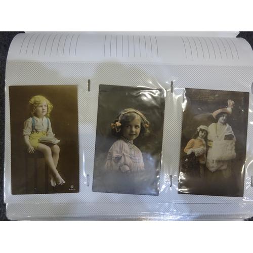 30 - Folder of mainly Edwardian postcards...